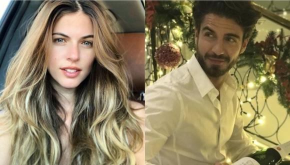 Stephanie Cayo y Maxi Iglesias son captados en actitud cariñosa por las calles de Málaga. (Foto: @unlunar/Instagram).