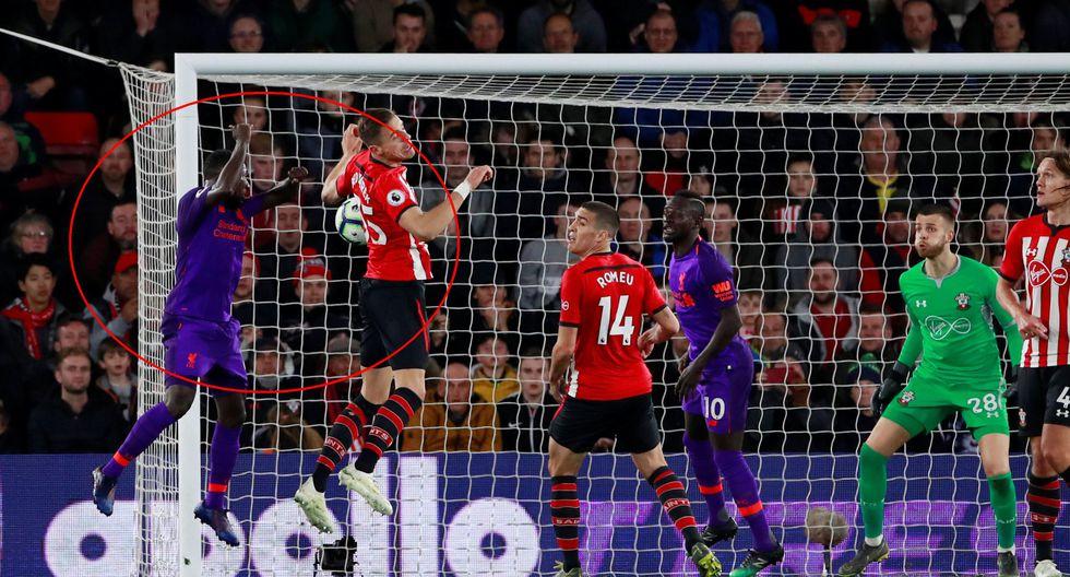 Liverpool vs. Southampton EN VIVO vía DirecTV Sports: Keita marcó el empate 1-1 con golazo de cabeza | VIDEO. (Foto: AFP)