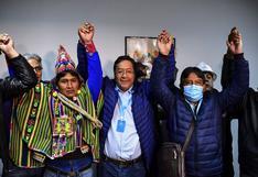 EN VIVO | Con más del 50% de votos, Luis Arce está camino de emular a Evo Morales en su primera elección