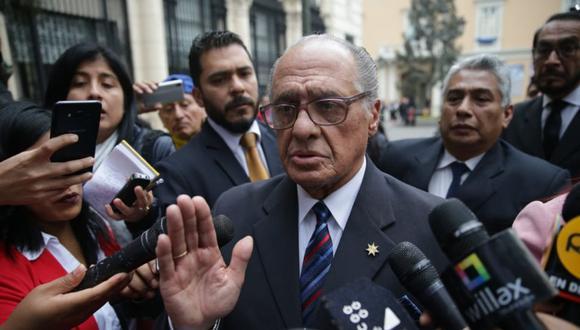 Juramentación de Pedro Patrón Bedoya como miembro de la JNJ fue suspendida (Foto: Alonso Chero)