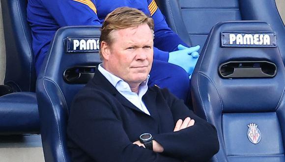 Ronald Koeman es entrenador de FC Barcelona desde inicios de temporada. (Foto: AFP)