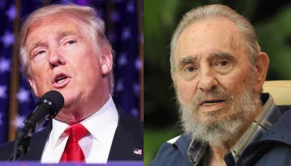 """Donald Trump: """"Fidel Castro fue un brutal dictador"""""""