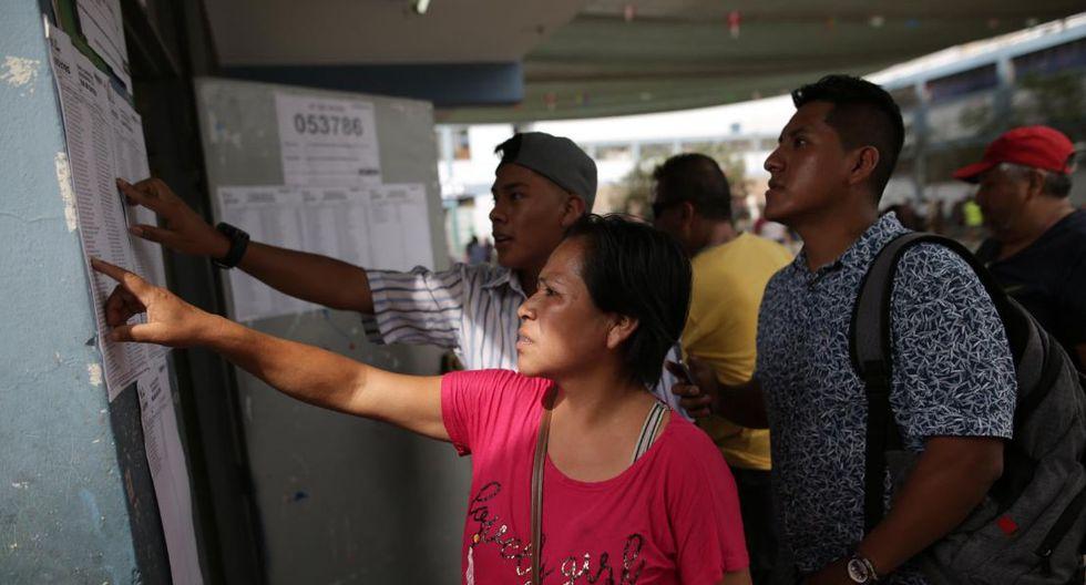 Un 8,2% del electorado habría decidido su voto el 26 de enero, el mismo día de la elección extraordinaria. (Foto: GEC)