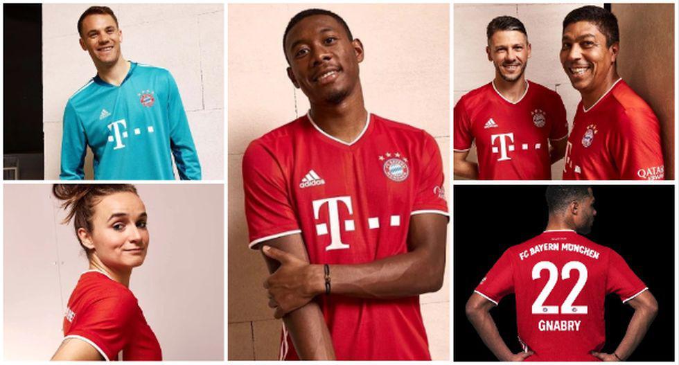 La camiseta de Bayern Múnich para la temporada 2020-21. (Foto: Bayern Múnich)
