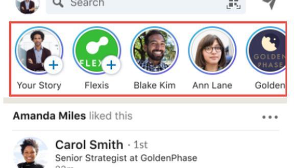 Las LinkedIn Stories permiten compartir fotografías y videos (con un máximo de 20 segundos), que se eliminarán después de 24 horas.