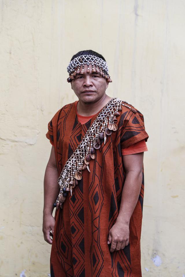 Marcelo Odicio Angulo es líder en su comunidad nativa Yamino, ubicada en la provincia Padre Abad (Ucayali) (Foto: El Comercio/Hugo Pérez)