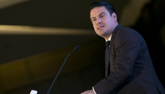 En esta fotografía de archivo del 1 de setiembre de 2016, el gobernador del estado de Jalisco, Jorge Aristóteles Sandoval Díaz, habla en la clausura de la Segunda Cumbre sobre Cambio Climático de las Américas en Guadalajara, México.  (Foto de archivo: AP).