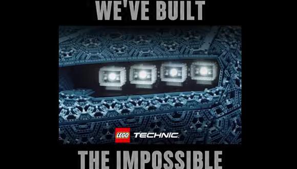 """En un teaser publicado en su cuenta de Facebook, Lego puso un video que anuncia como un modelo que parecía """"Imposible"""", pero sin definir de qué unidad se trata. (Facebook)"""