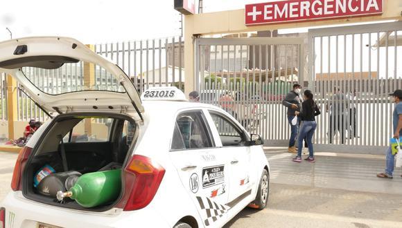Suspenden entrega gratuita de oxígeno medicinal ante incremento de contagios por COVID-19 (Foto: Gore Lambayeque)