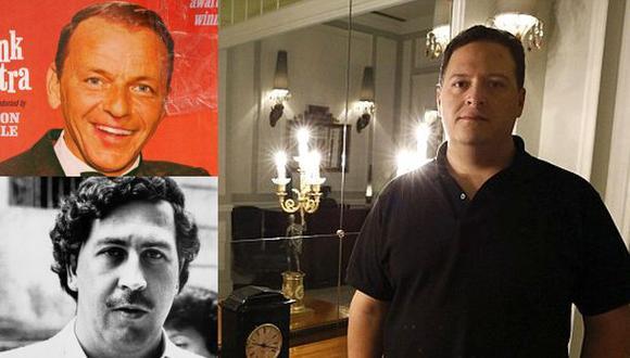 Hijo de Pablo Escobar: Frank Sinatra era socio de mi padre