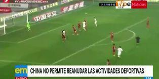 Coronavirus: no se reanudaran las actividades deportivas en China