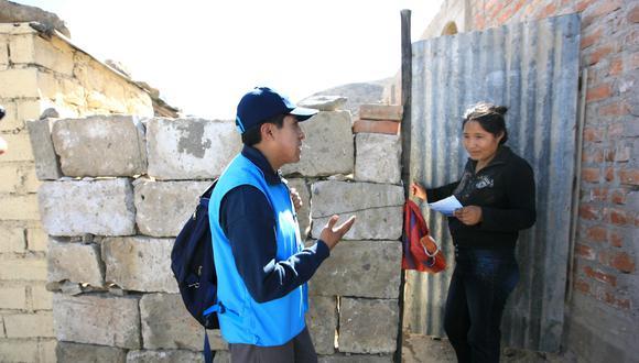Según estimaciones del INEI, la inversión prevista para el censo en Perú en dólares (US$68 millones) es menor que lo registrado en países vecinos como Argentina (US$132 millones), Colombia (US$196 millones) o México (US$436 millones) (Foto: Archivo)