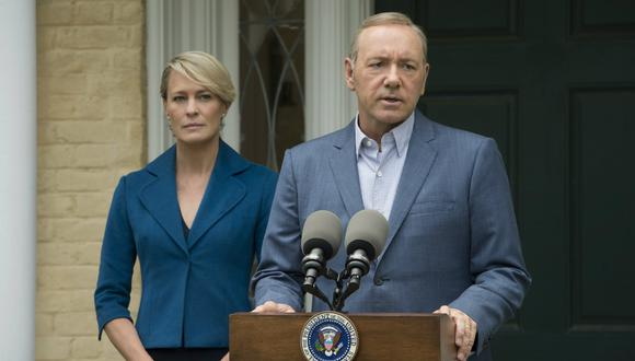 "Robin Wright y Kevin Spacey en ""House of Cards"" (Foto: AP)"