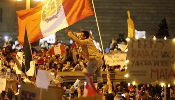El estudio confirma que las manifestaciones, así como en las calles, fueron lideradas por un espíritu juvenil en las redes. (Foto: César Bueno / GEC)