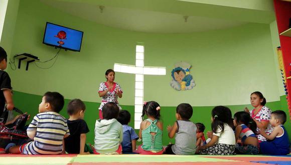 Las guarderías infantiles de los más necesitados en El Agustino