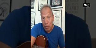 Raúl Romero interpretó canción de Pedro Suárez-Vértiz adaptada a los tiempos de cuarentena
