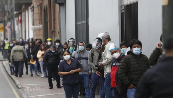La cantidad de contagios de COVID-19 en el Perú aumentó este domingo. (Foto: Violeta Ayasta)