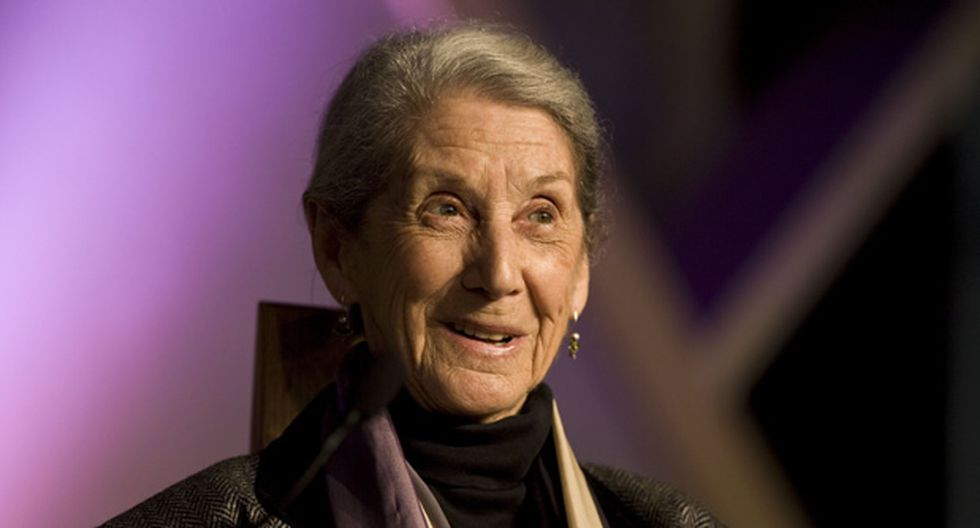 Murió Nadine Gordimer, premio Nobel de Literatura 1991