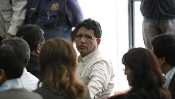 Pasco: declaran reo contumaz a ex gobernador Kléver Meléndez