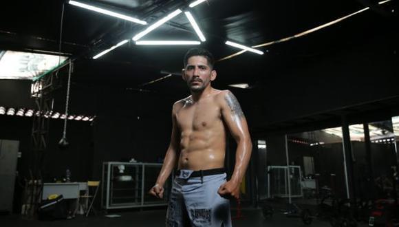 Daniel Marcos, de 27 años, tiene un récord de 12-0 como profesional de las MMA. (Foto: Alonso Chero/El Comercio)