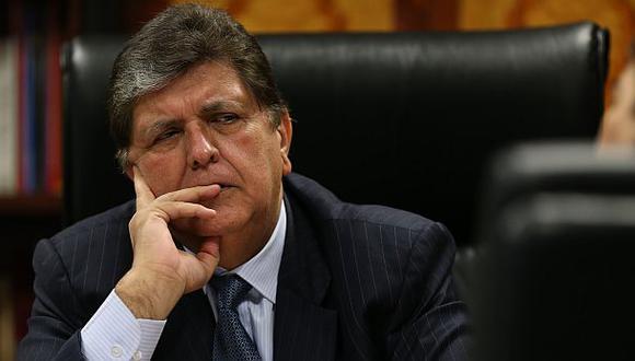 Megacomisión: Alan García formó parte de organización delictiva