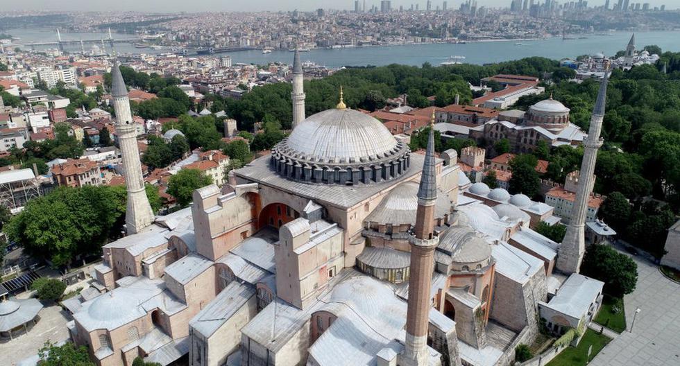 Santa Sofía se encuentra en la parte antigua de Estambul, Turquía, y está incluido en la lista del patrimonio mundial de la Unesco. Atrae a millones de turistas de todo el mundo. (Foto: Getty Images)