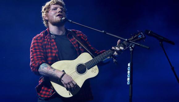 Ed Sheeran reveló que fue víctima de bullying cuando era niño por ser pelirrojo. (Foto: EFE)