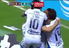 Puebla vs. Necaxa: gol de Emanuel Gularte para el 1-0 de la 'Franja' en la Liga MX | VIDEO