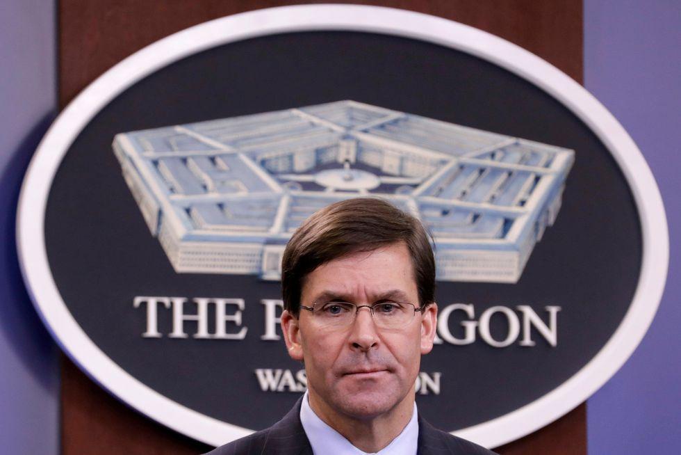 Mark Esper, United States Secretary of Defense. (REUTERS / Yuri Gripas / File Photo).