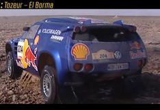 El duelo de titanes del Dakar 2003 y la sumergida en Túnez