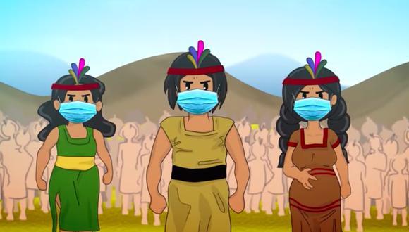 Incas vs Covid imagina un pasado alternativo en que el COVID llega al incanato.