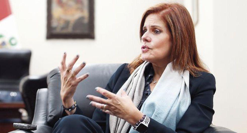 Araoz espera que algunos ministros coordinen mejor con la bancada de Peruanos por el Kambio. (Foto: Rolly Reyna)