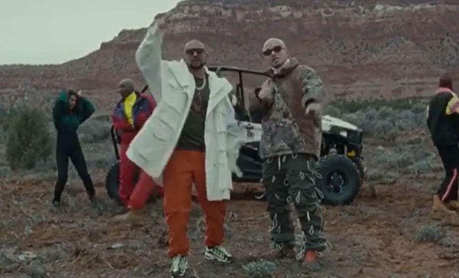 """J Balvin y Sean Paul estrenaron su nuevo tema """"Contra la pared"""". (Foto: Captura de video)"""