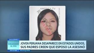 Joven peruana desaparece en Estados Unidos