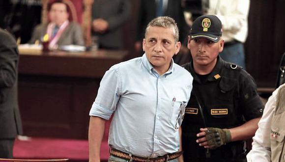 """Humala Tasso será trasladado al penal del Ancón I """"por razones de seguridad penitenciaria"""" y se dispuso el relevo del personal a cargo de su seguridad. (Foto: GEC)"""