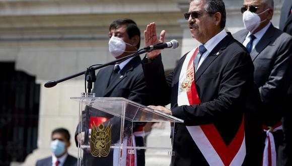 El acciopopulista Manuel Merino juró como presidente de la República el último martes, luego de que el Parlamento vacara a Martín Vizcarra. (Foto: Presidencia de la República)