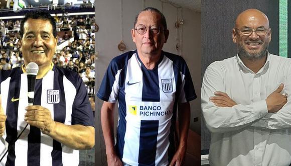 El Tío Lalo trabajó en Alianza hasta el año pasado. Armando Leveau es quien conoce más la historia de Alianza y Peter Arévalo es un fiel seguidor de la blanquiazul. (Foto: Facebook)