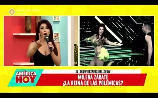 """Milena Zárate sobre Santi Lesmes: """"habla mal de las mujeres"""""""