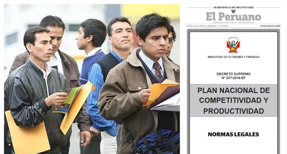Conoce qué cambios propone el Plan Nacional de Competitividad y Productividad en materia laboral.
