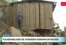 Más del 77 % de Limeños vive en zonas de alto riesgo