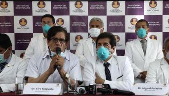 Miguel Palacios asegura que está dentro de sus atribuciones pedirle a Maguiña que de un paso al costado, tras revelarse su nombre en la lista de 487 personas que inocularon secretamente vacunas contra el COVID-19. (Foto: Difusión)