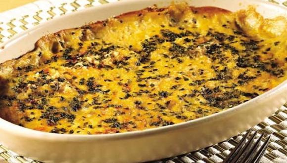 Berenjenas y queso al horno