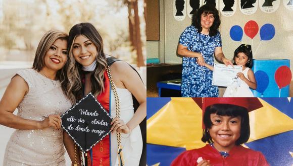 Una recién graduada celebró la obtención de su maestría con un sentido homenaje a todas las instituciones involucradas en su formación académica. | Crédito: @priscila_photography / Instagram / kmph.com