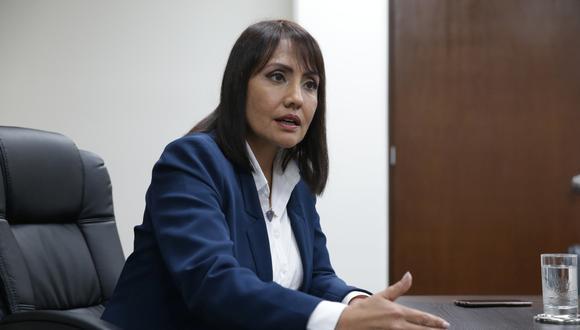 María Jara se negó a responder a la denuncia hecha por Punto Final. (Foto: GEC)