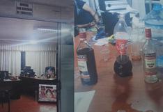 Cusco: intervienen a siete personas que libaban licor en oficina de la Municipalidad Provincial de Canchis