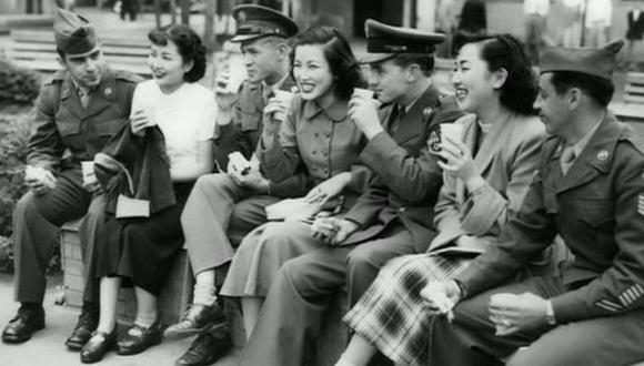 Las japonesas que se casaron con el enemigo