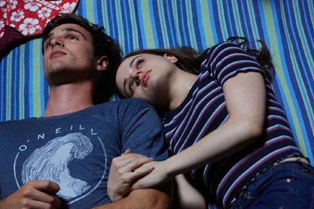 Is this the end of Elle and Noah's love story?  (Photo: Netflix)