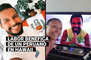 Carlos Unzueta, el peruano que logró recaudar más de 7 mil dólares para el Banco de Alimentos de Hawaii