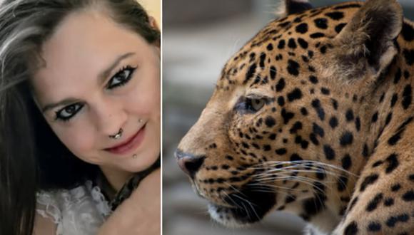 Una modelo sobrevivió al ataque de un leopardo durante una sesión de fotos. (Imagen: Jessy L. en YouTube y Melanie van de Sande en Pixabay)