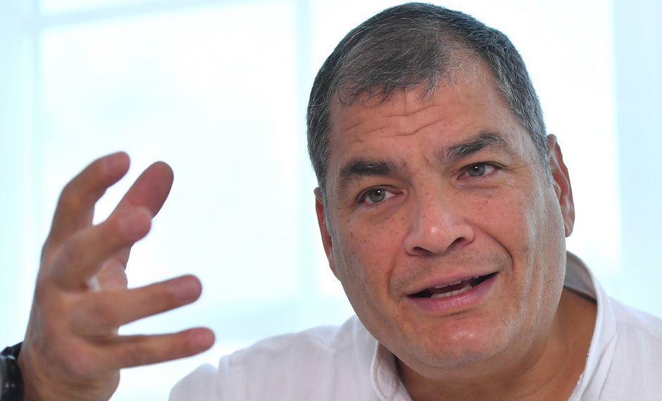 """Ex presidente de Ecuador, Rafael Correa, asegura que intervención en Venezuela sería nuevo """"Vietnam"""" para Estados Unidos. Foto: Archivo de AFP"""